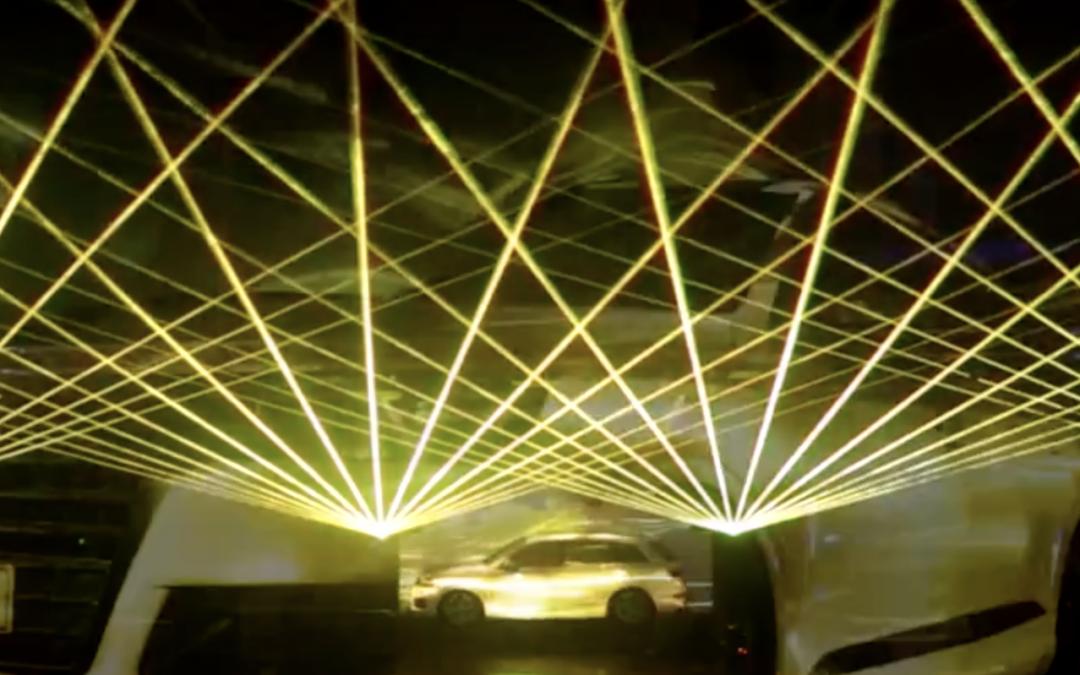 Laser Show Projectors for Aurelium Centre of Science
